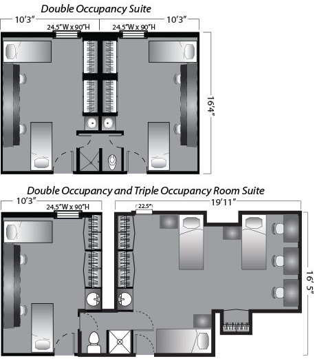 Floor plans garden home northeastern university housing floor plans