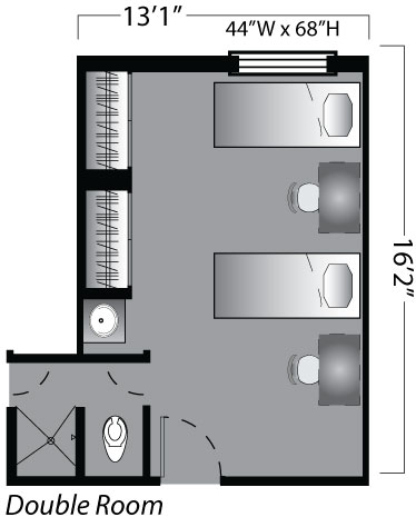 Maple interior floor plan