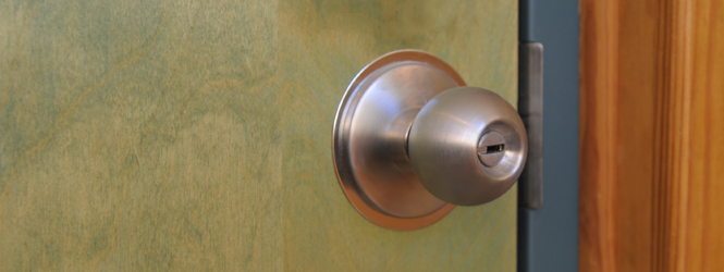 Picture of a doorknob