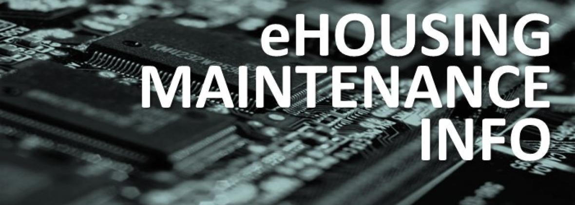eHousing Maintenance